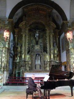 Recital no Convento Nossa Senhora dos Remédios em Évora. Foto: Gavella. 21/05/10. Clique para ampliar.