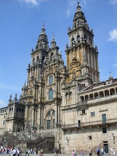 Igreja Matriz de Santiago de Compostela. Foto J.E.M. 04/06/10. Clique para ampliar.