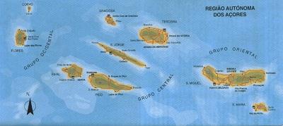 Arquipélago dos Açores.