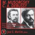 2003: M. Musorgsky, C. Debussy