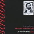 2005: Scriabin (Integral dos Estudos para Piano). Reedição brasileira.