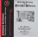 Johann Kuhnau – Sonates Bibliques